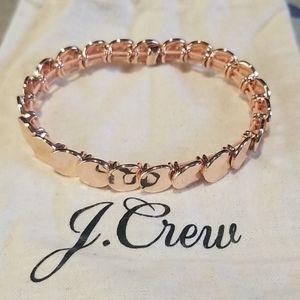 JCrew stacked mini disc bracelet